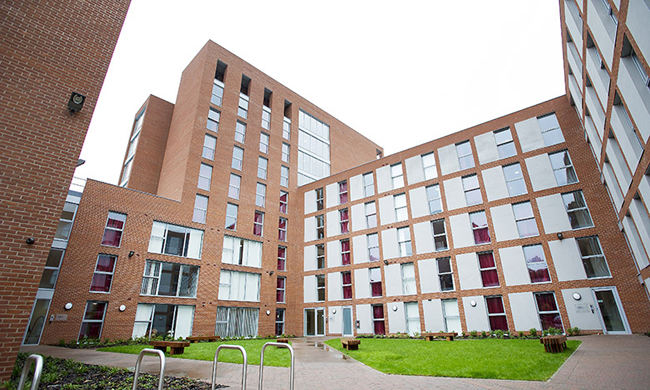 Private Student Halls In Manchester Denmark Road