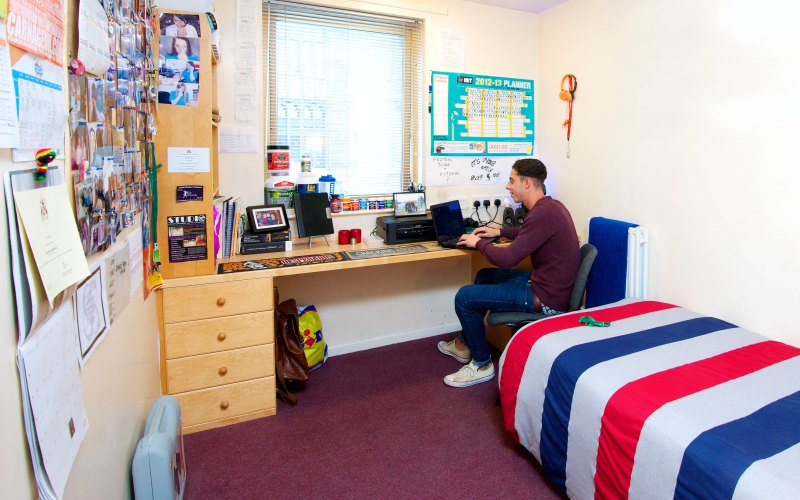 Overseas students love private halls of residence