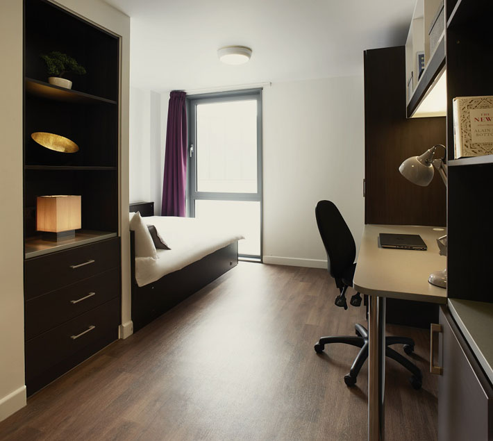 Private Residential Halls For Students Or Private House