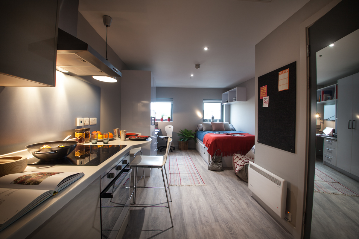 Student Accommodation In Aberdeen Hunter Court